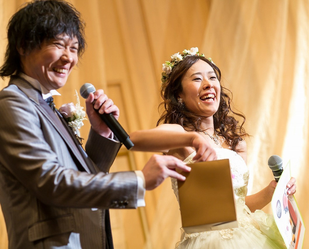 ゲスト思いのおふたりの、笑顔溢れる結婚式