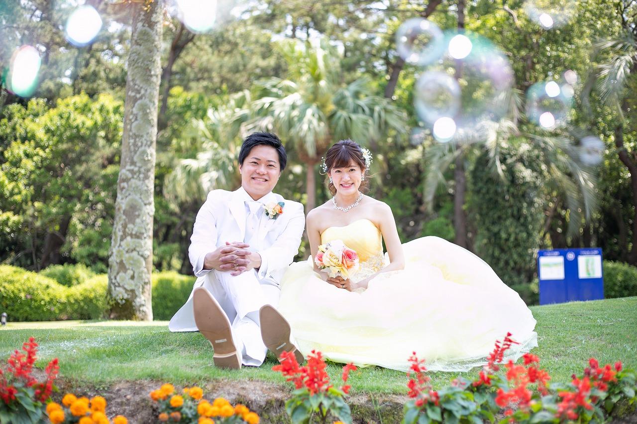 宮崎らしさを前面に出した演出で県外ゲストからも大好評の結婚式