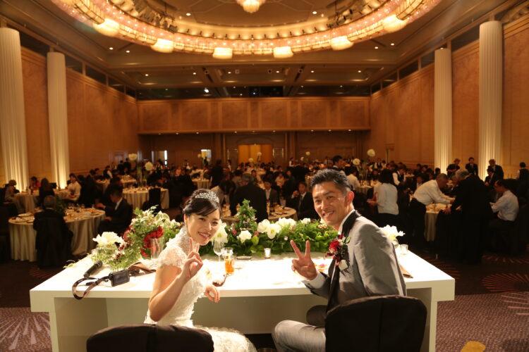 たくさんの方々からの祝福に包まれた、「天瑞」ならではの豪華結婚式