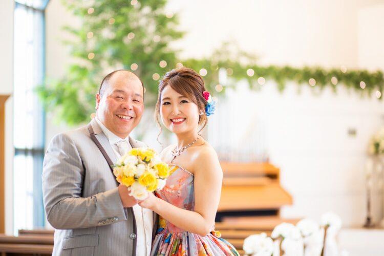 大切な方達へじっくりと感謝を伝え、同じ時間を共有した小さな結婚式