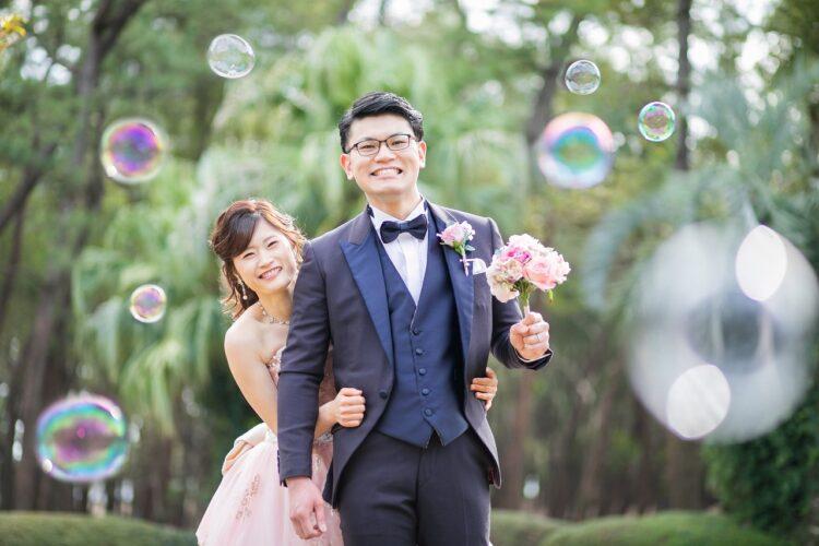 オーシャンビューを独占*笑顔広がる結婚式